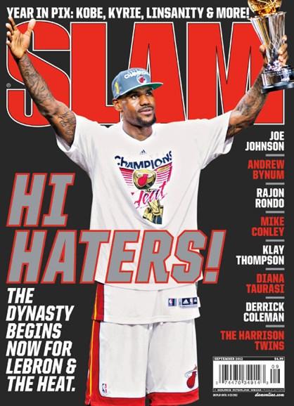 Slam Cover - 9/1/2012