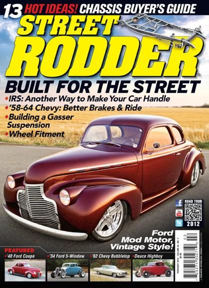 Street Rodder Cover - 2/1/2013