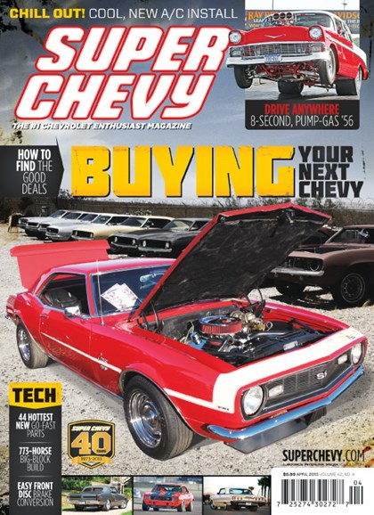 Super Chevy Cover - 4/1/2013