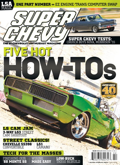 Super Chevy Cover - 2/1/2013