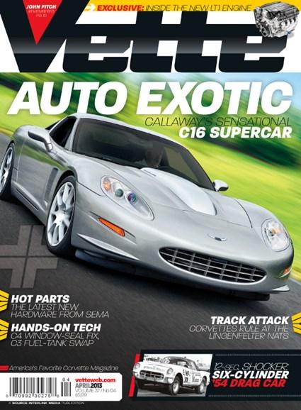 Vette Cover - 4/1/2013