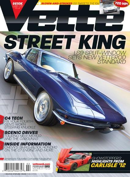 Vette Cover - 2/1/2013