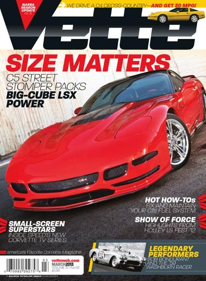 Vette Cover - 3/1/2013