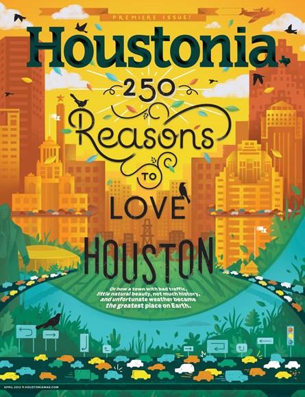 Houstonia Cover - 4/1/2013