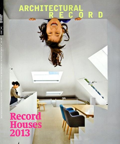 Architectural Record Cover - 4/1/2013