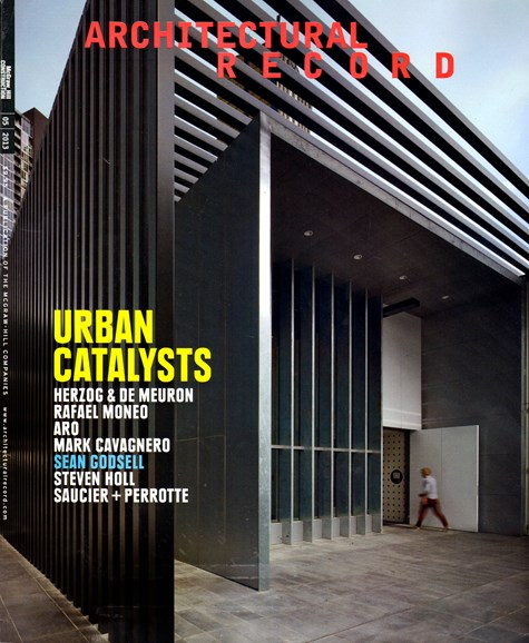 Architectural Record Cover - 5/1/2013