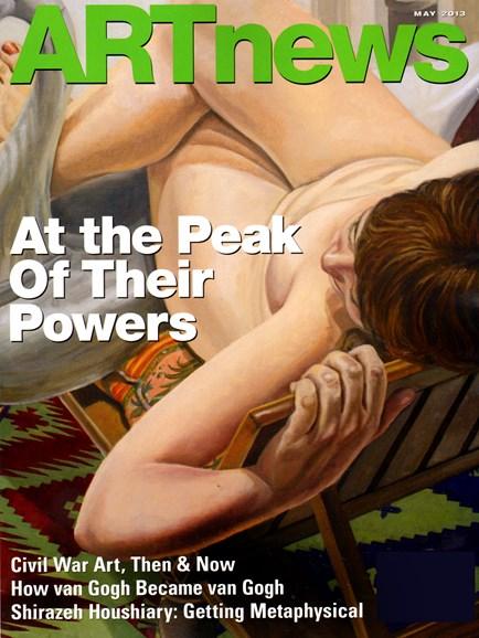 ARTnews Cover - 5/1/2013