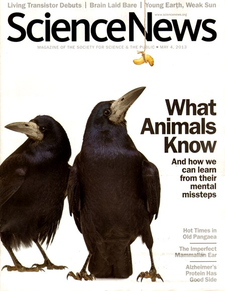 Science News Cover - 5/4/2013