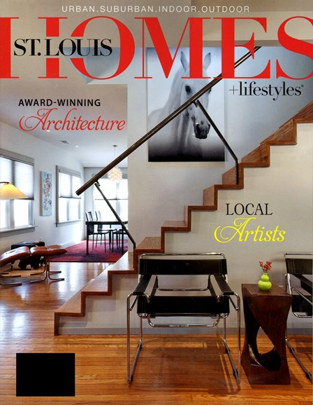 St. Louis Homes & Lifestyles Cover - 5/1/2013
