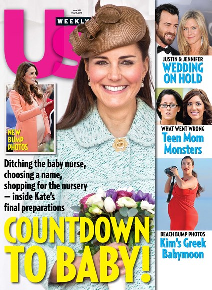 Us Weekly Cover - 5/13/2013
