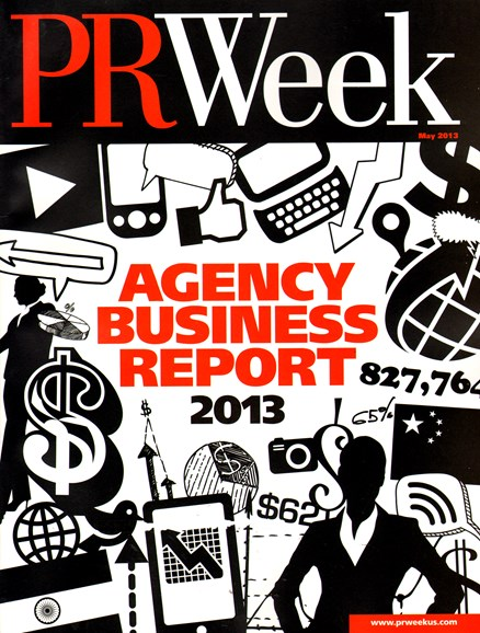 PRWeek Cover - 5/1/2013