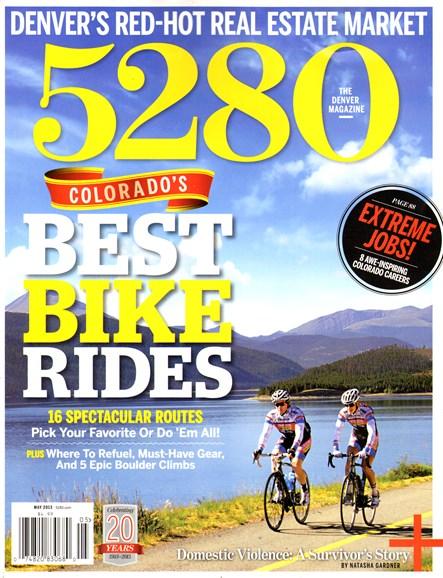 5280 Magazine Cover - 5/1/2013