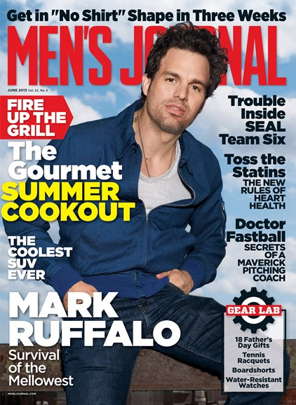 Men's Journal Cover - 6/1/2013