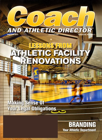 Coach & Athletic Director Cover - 5/1/2013