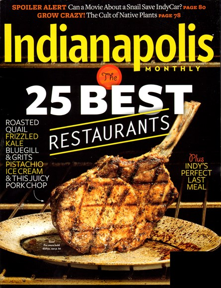 Indianapolis Monthly Cover - 5/1/2013