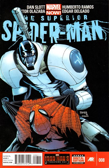 Amazing Spider-Man Cover - 6/15/2013
