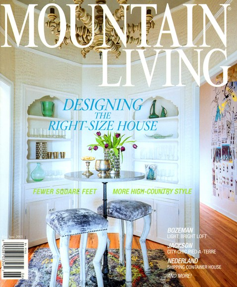 Mountain Living Cover - 5/1/2013