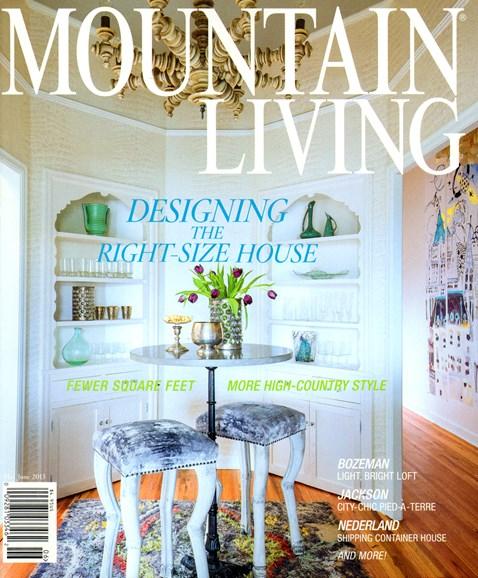 Mountain Living Cover - 5/1/2013