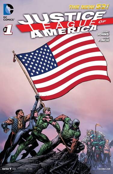 Justice League of America Cover - 4/1/2013