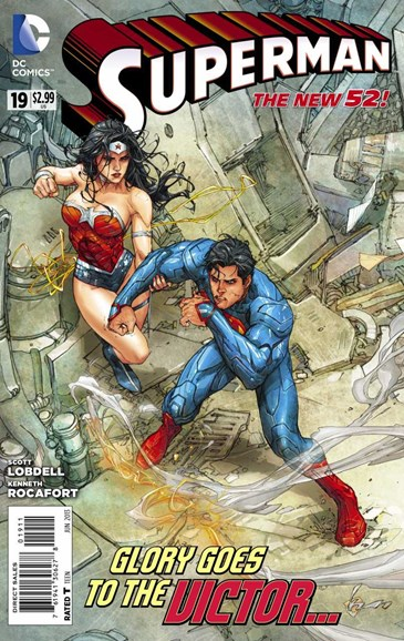 Superman Cover - 6/1/2013