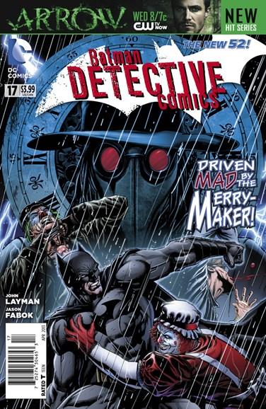 Detective Comics Cover - 4/1/2013