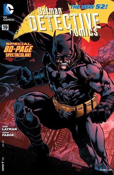 Detective Comics Cover - 6/1/2013