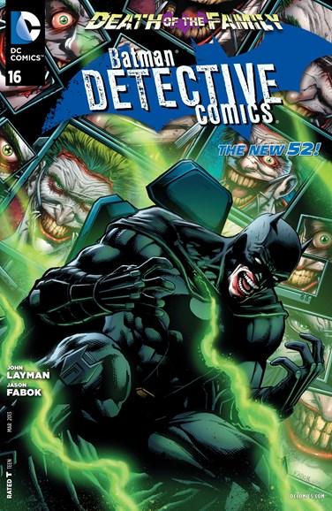 Detective Comics Cover - 3/1/2013