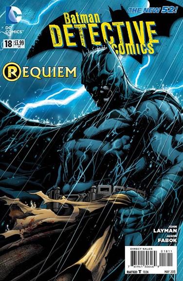 Detective Comics Cover - 5/1/2013