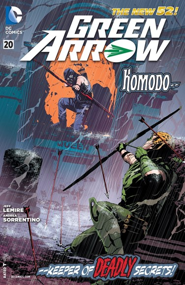 Green Arrow Cover - 7/1/2013