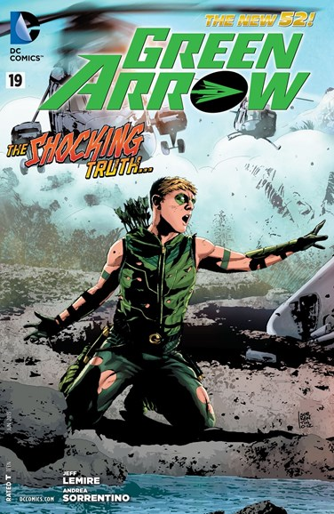 Green Arrow Cover - 6/1/2013