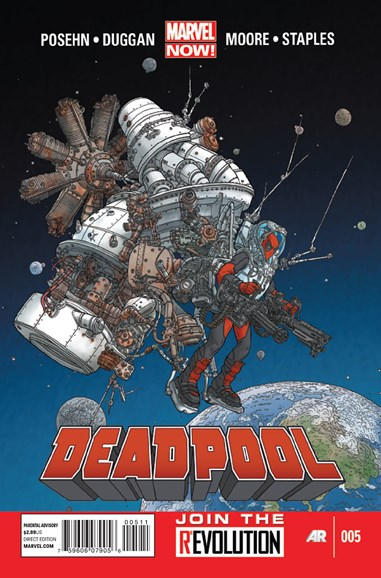 Deadpool Cover - 4/1/2013