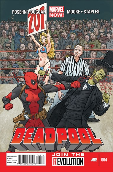 Deadpool Cover - 3/1/2013