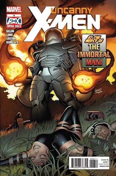 Astonishing X-Men Cover - 4/1/2012