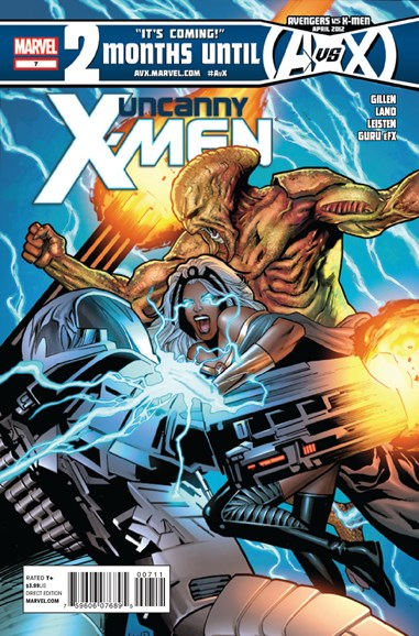 Astonishing X-Men Cover - 4/15/2012