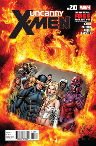 Astonishing X-Men Cover - 12/1/2012