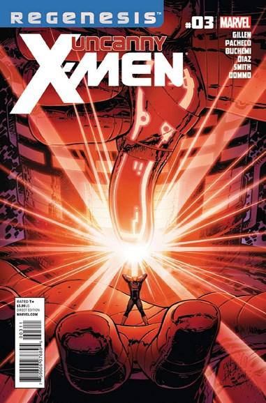 Astonishing X-Men Cover - 2/1/2012