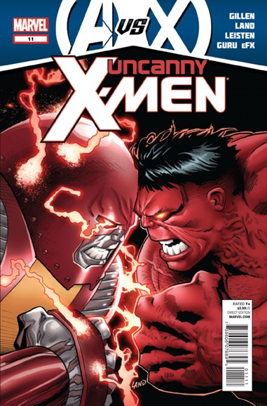 Astonishing X-Men Cover - 6/15/2012