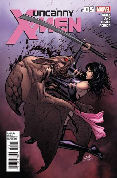 Astonishing X-Men Cover - 3/15/2012