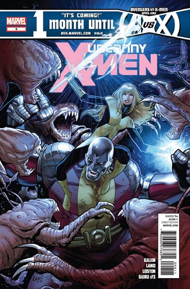 Astonishing X-Men Cover - 5/1/2012
