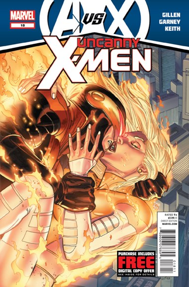 Astonishing X-Men Cover - 11/1/2012