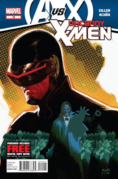 Astonishing X-Men Cover - 9/1/2012
