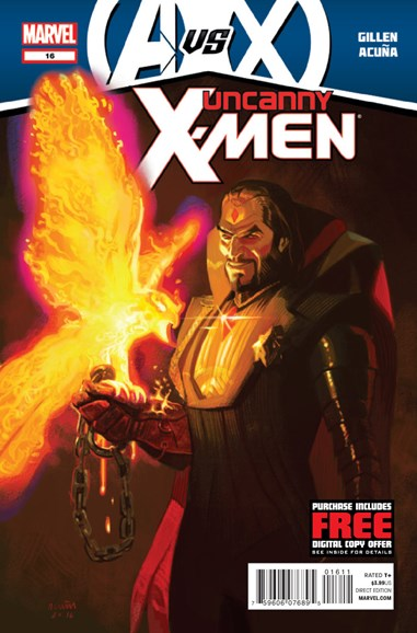 Astonishing X-Men Cover - 9/15/2012