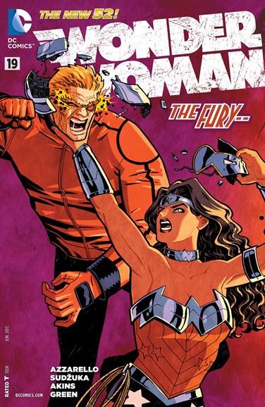 Wonder Woman Cover - 6/1/2013