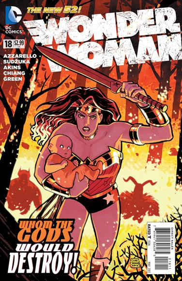 Wonder Woman Cover - 5/1/2013