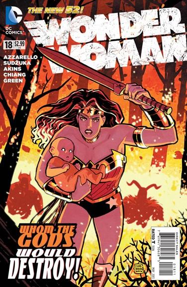Wonder Woman Cover - 5/1/2013