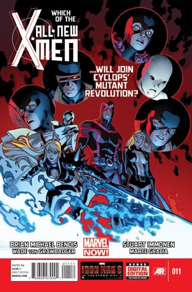X-Men Blue Cover - 7/1/2013