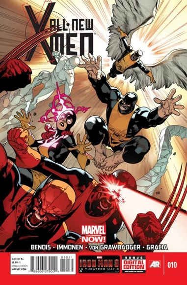 X-Men Blue Cover - 6/1/2013