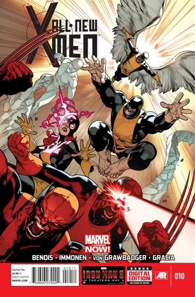X-Men Blue Cover - 6/1/2013