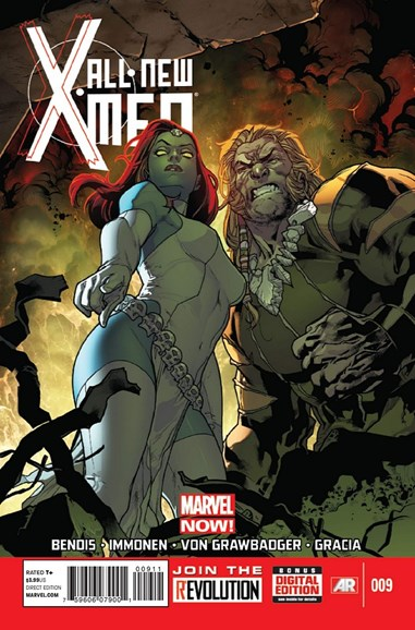 X-Men Blue Cover - 5/1/2013