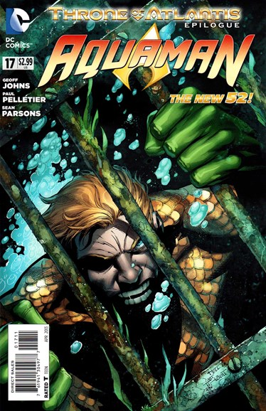 Aquaman Cover - 4/1/2013